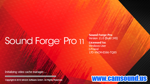 Sound Forge software, free download With Crack