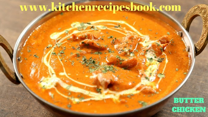 BUTTER CHICKEN RECIPE | MAKING HOMEMADE BUTTER CHICKEN