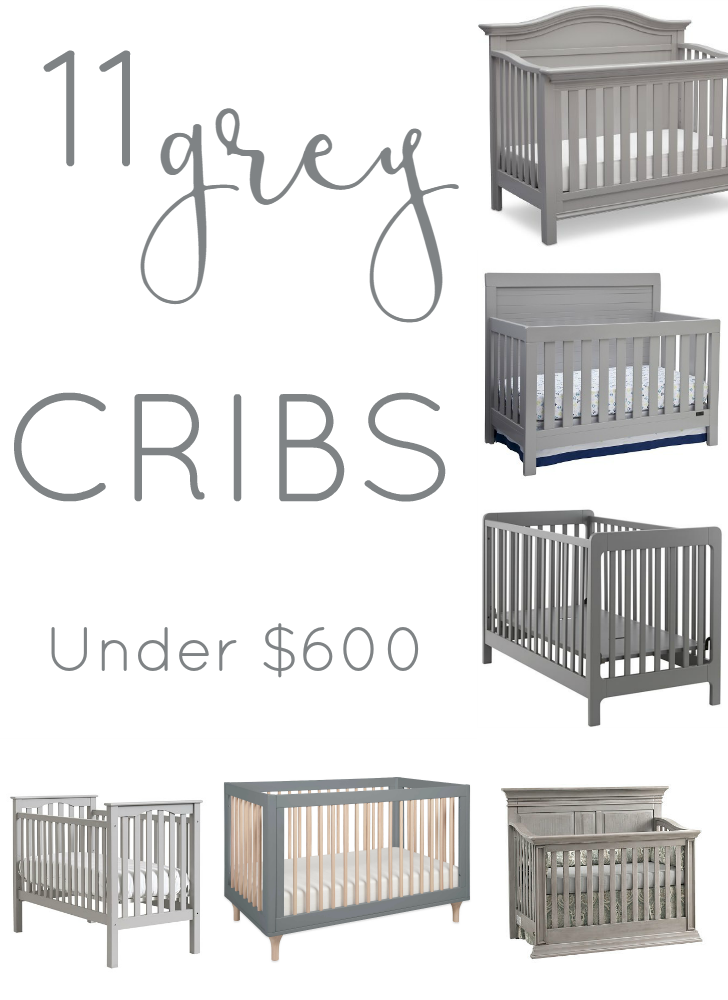 11 Affordable Grey Cribs