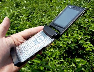 Hape Jadul Nokia N76 Flip Symbian Phone Seken Mulus Kolektor Item