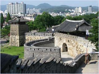 ป้อมปราการฮวาซอง (Hwaseong Fortress)