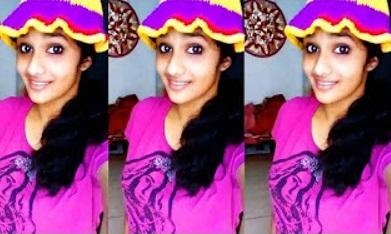 Cute girl Roshini Xavier Tamil Dubsmash