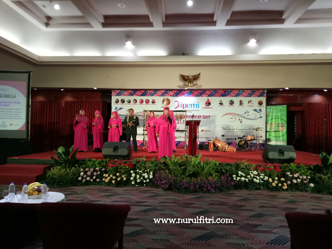 Milad Ikatan Pengusaha Muslimah Indonesia dengan Tema Muslimahpreneur Day