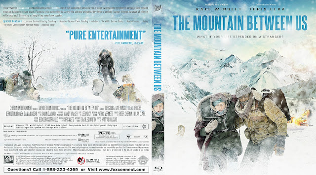 The Mountain Between Us Bluray Cover