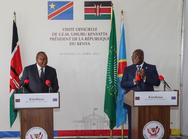 President Uhuru Kenyatta weight gain memes and challenge