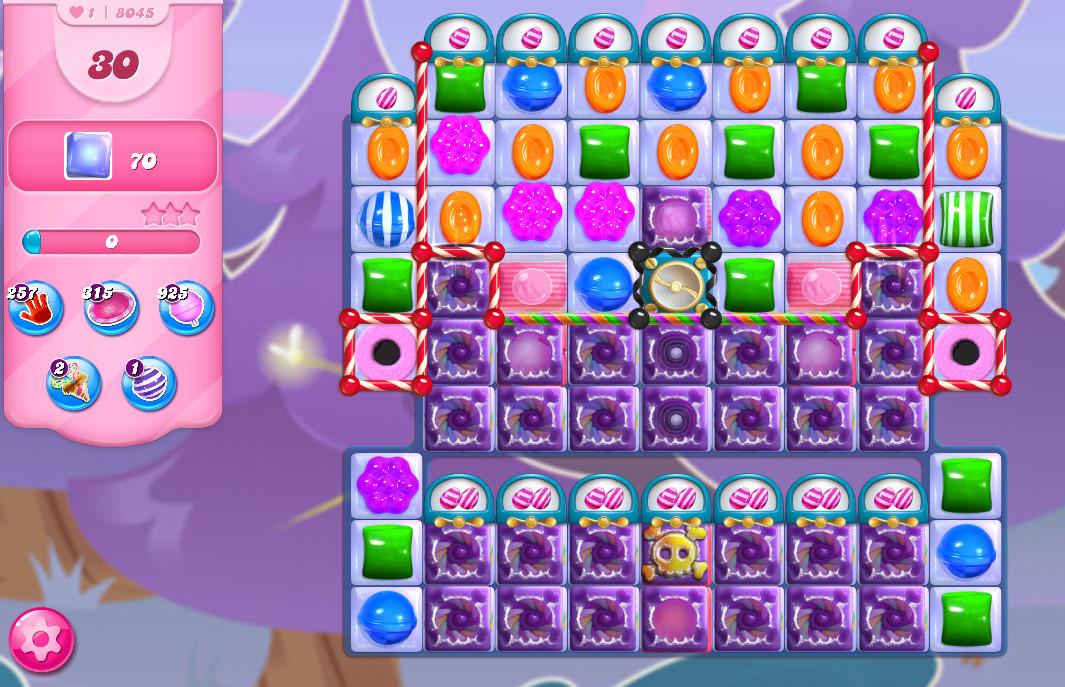 Candy Crush Saga level 8045
