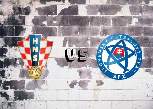 Croacia vs Eslovaquia  Resumen