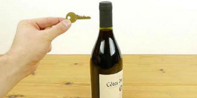 Πως να ανοίξετε ένα μπουκάλι κρασί