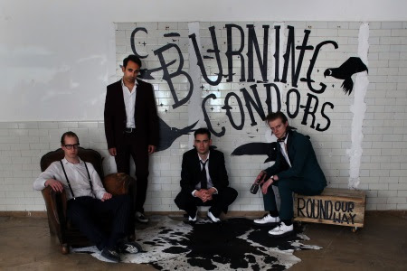 "Burning Condors: Round Our Way, 7"" giveaway"
