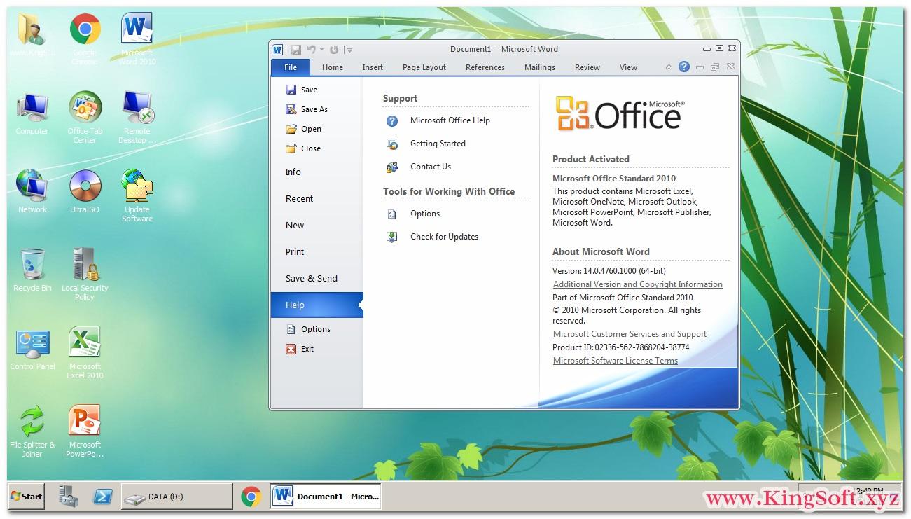 Ghost Windows Server 2008 R2 SP1 Enterprise 64 Bit Full Soft mới nhất