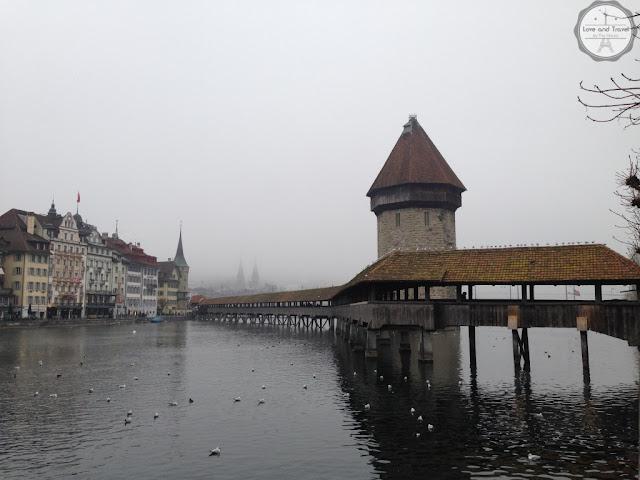 Ponte da Capela (Kapellbüche) Lucerna