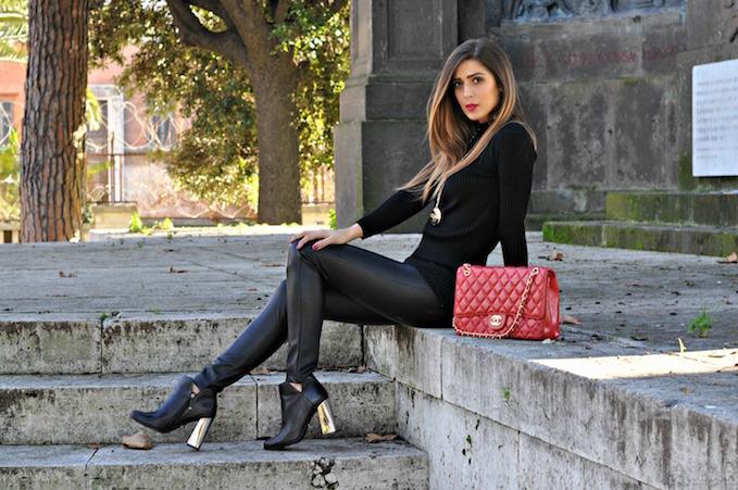 pantaloni di pelle: come indossare questo capo