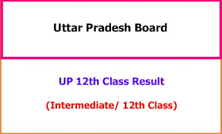 UP 12th Class Exam Result 2021