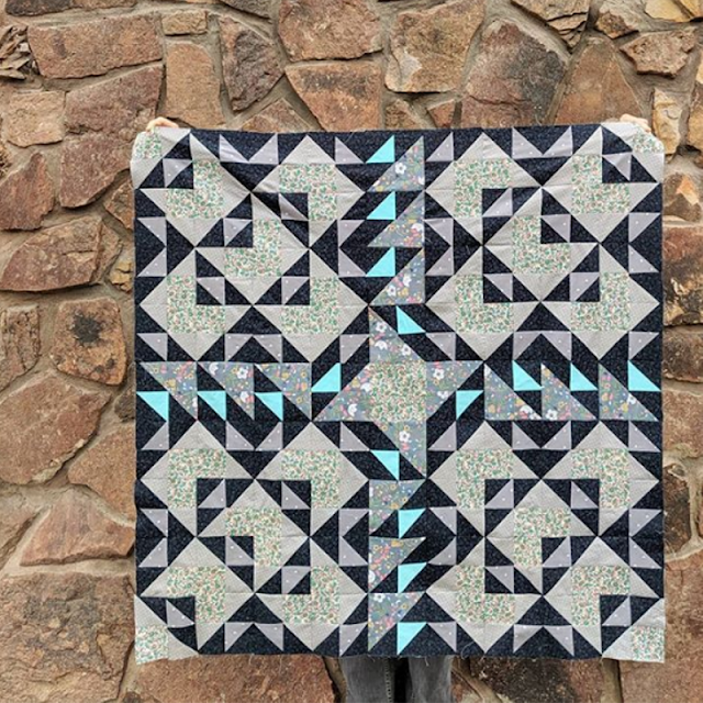 Pattern on pattern | Double Windmill Quilt pattern