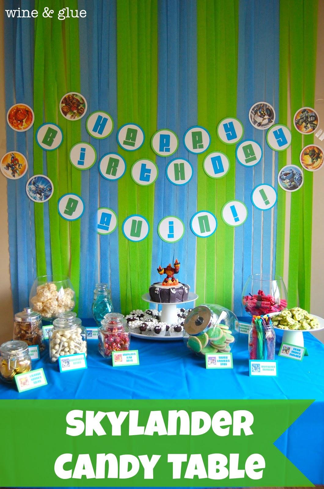 Skylanders Cake Decorations