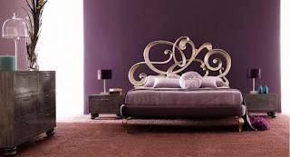cuarto matrimonial violeta plata