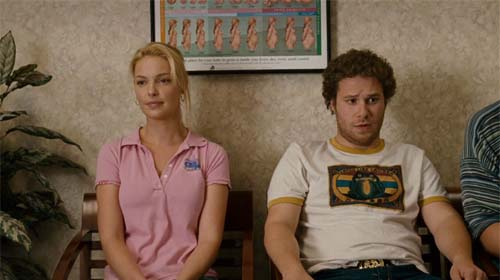 Katherine Heigl, Seth Rogen in Knocked Up