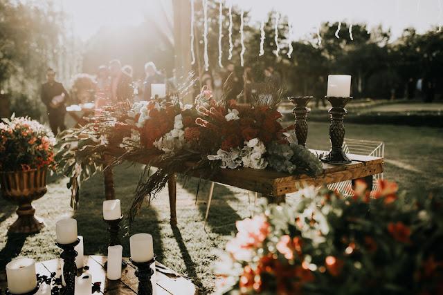 Ceremonia boda en el exterior