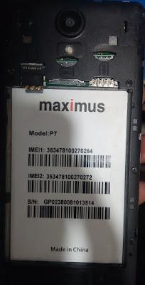 MAXIMUS P7 FLASH FILE