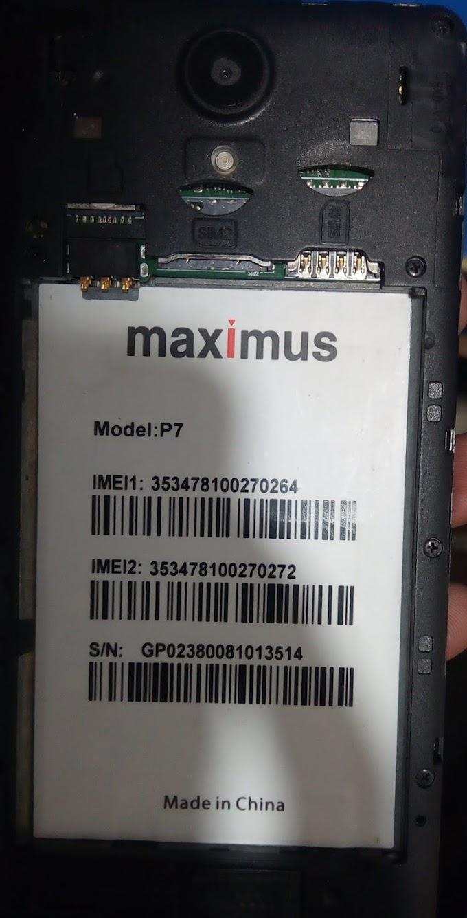 MAXIMUS P7 FLASH FILE FIRMWARE STOCK ROM