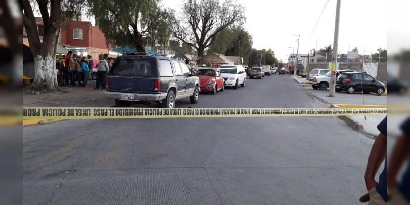 Sicarios ejecutan a dos personas en Celaya, Guanajuato; uno de ellos menor de edad