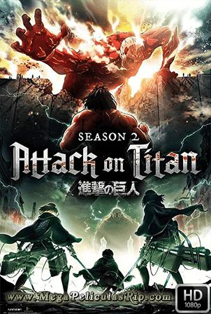 Ataque A Los Titanes Temporada 2 [1080p] [Latino-Japones] [MEGA]