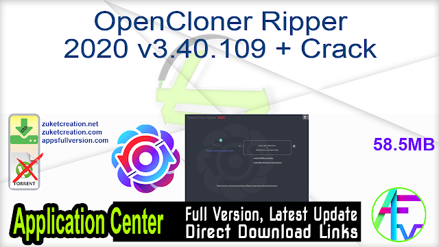OpenCloner Ripper 2020 v3.40.109 + Crack