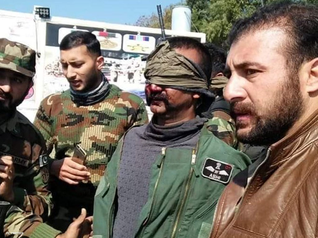 Wing commander Abhinandan captured by the Pakistan army