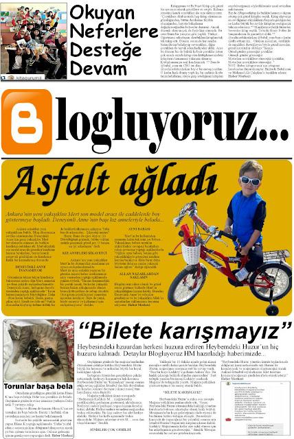 Blogluyoruz, 2. sayı, blog gazetesi, bloglarda ne var?