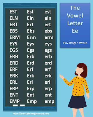One-Syllable Words that Start with the Vowel Letter Ee - Effective Reading Guide for Kids