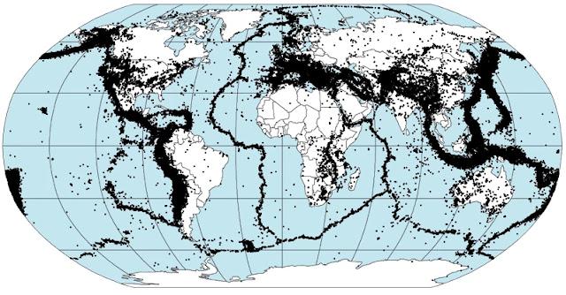 Sismicidad Mundial en pocas palabras - Generalidades de los sismos