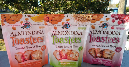 Almondina, One of Our Favorite Snacks, Introduces Toastees! + Giveaway