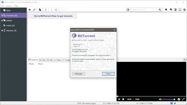 Bittorrent app for windows
