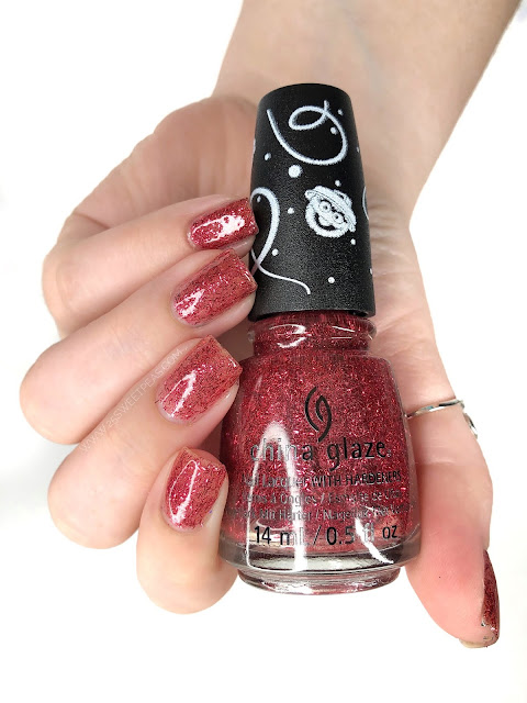 China Glaze On the Nice List 25 Sweetpeas