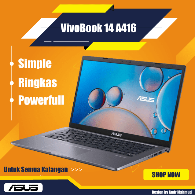ASUS-VivoBook-14-A416-Simple-Ringkas-PowerFull-Untuk-Semua-Kalangan