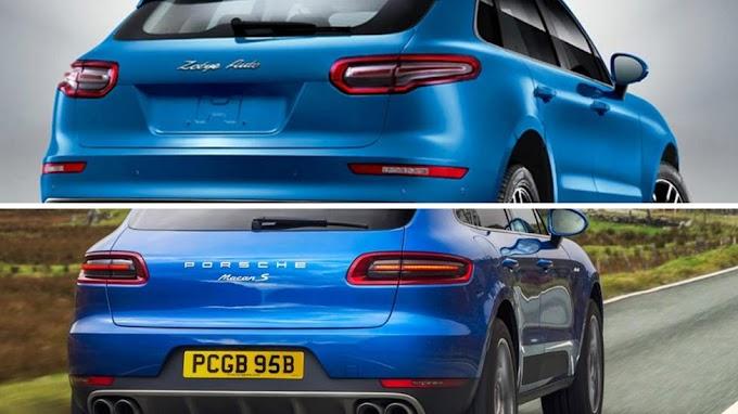 Zotye SR9, el clon chino del Porsche Macan