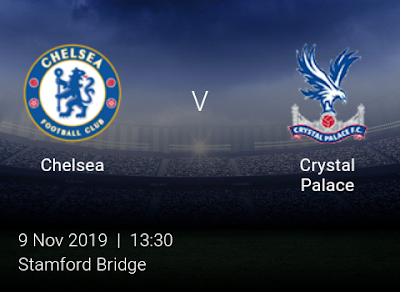 LIVE MATCH: Chelsea Vs Crystal Palace Premier League 09/11/2019