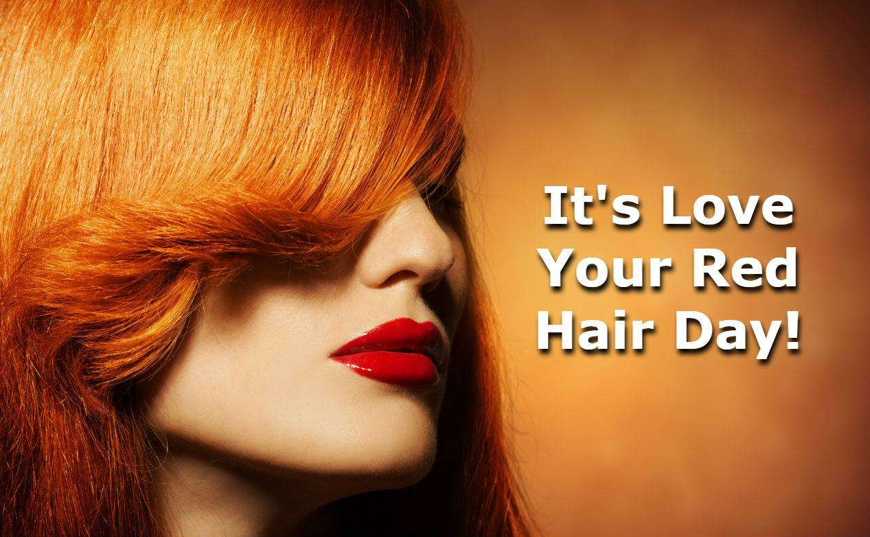 National Love Your Red Hair Day Wishes For Facebook