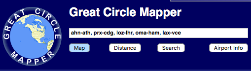 Personal Change: Great Circle Mapper