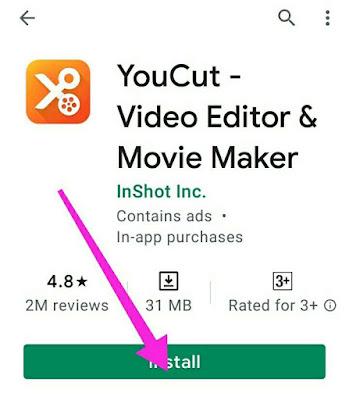YouCut app