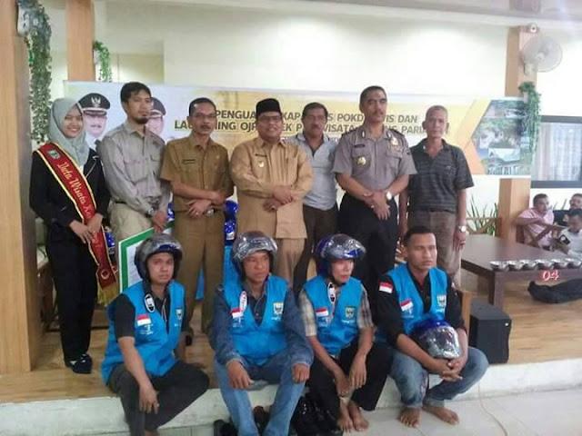 Padangpariaman Launching Ojek Pariwisata di Tiga Lokasi