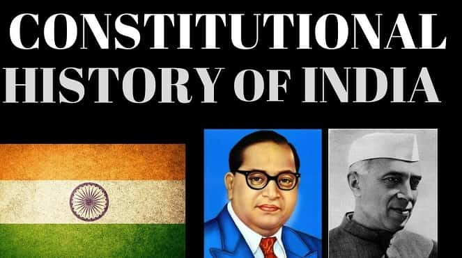 Indian Constitutional History