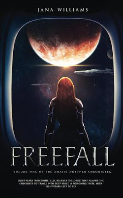 #BookBlitz: Freefall (The Amalie Noether Chronicles Book 1) by Jana Williams -NWoBS Blog