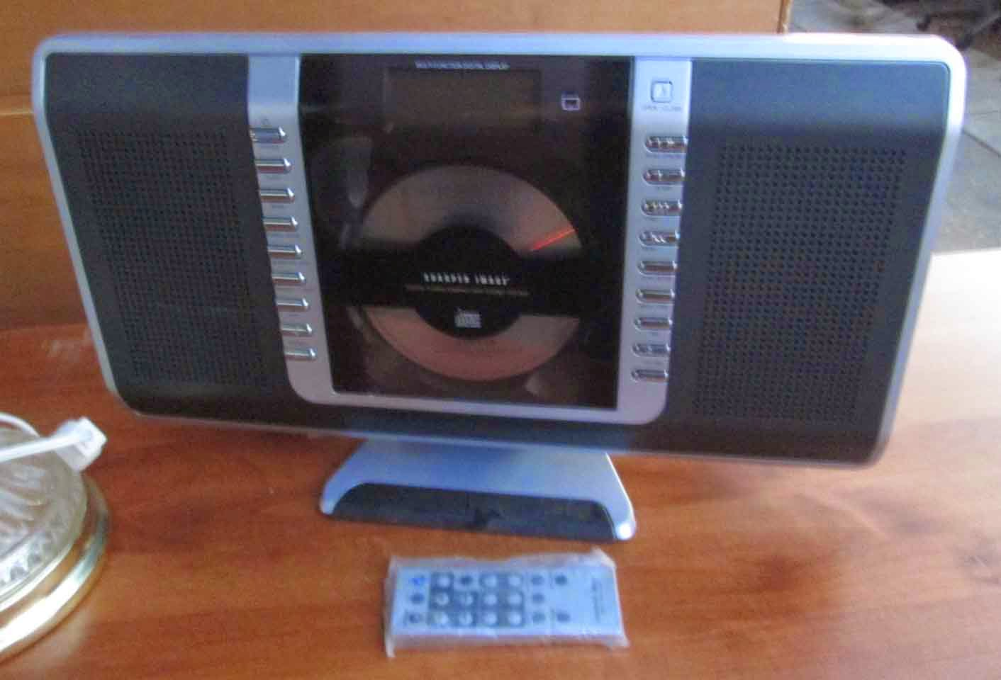 Uhuru Furniture Collectibles Sold Sharper Image Cd Player With