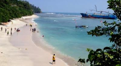 Pantai Eksotik di Pangandaran