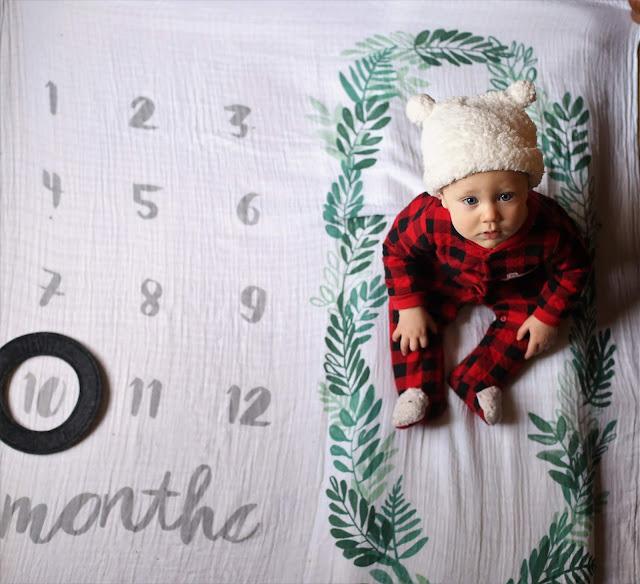 Milestone Blanket Photography