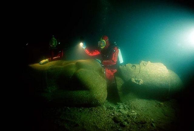 Египет - град под водата