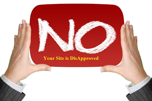 reasons for why your adsense application is rejected