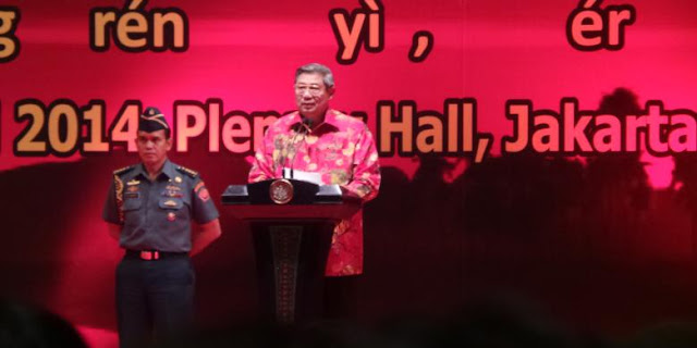 "Presiden SBY Ganti Istilah ""China"" Menjadi ""Tionghoa"""