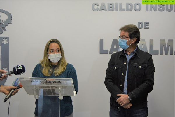 Declaraciones de la consejera de Sanidad del Cabildo de La Palma Susana Machín sobre su vacunación